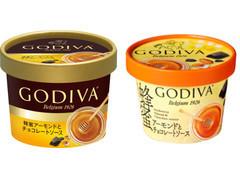 蜂蜜アーモンドとチョコレートソース